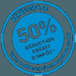 50% de credit impot sur vos services a domicile